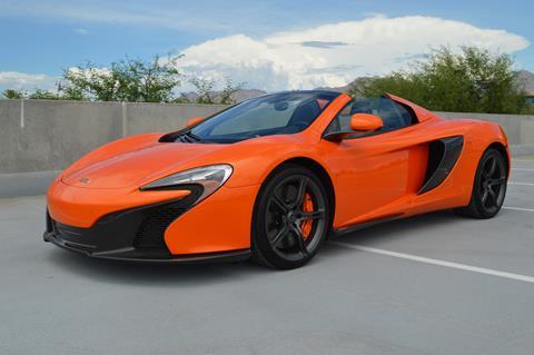2015 McLaren 650S Spider for sale in Scottsdale, AZ