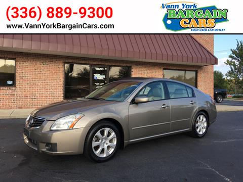 2008 Nissan Maxima for sale in High Point, NC