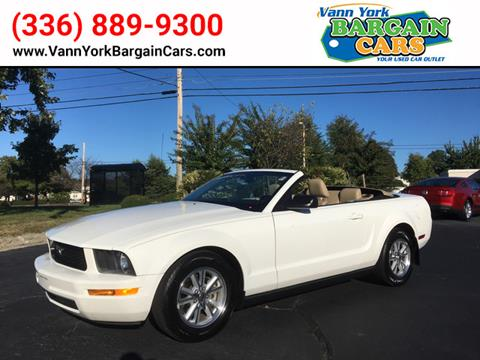 2007 Ford Mustang for sale in High Point, NC