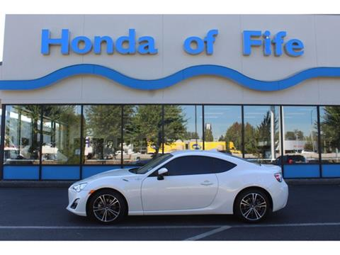 2016 Scion FR-S for sale in Fife, WA
