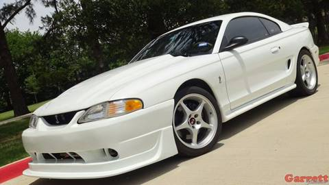 ford mustang svt cobra for sale in texas. Black Bedroom Furniture Sets. Home Design Ideas