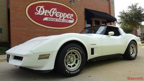1982 Chevrolet Corvette for sale in Lewisville, TX