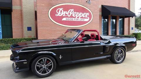 1968 Ford Mustang for sale in Lewisville, TX