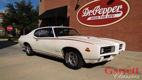 1969 Pontiac GTO for sale in Lewisville, TX