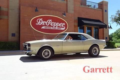 1968 Chevrolet Camaro for sale in Lewisville, TX