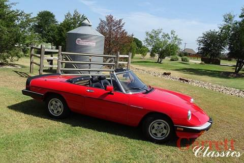 1985 Alfa Romeo Spider for sale in Lewisville, TX