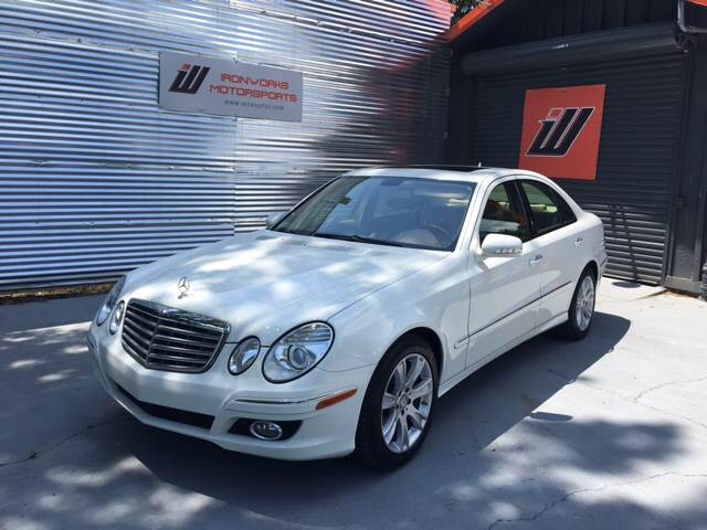 2009 Mercedes-Benz E-Class for sale at IRONWORKS MOTORSPORTS in Cartersville GA