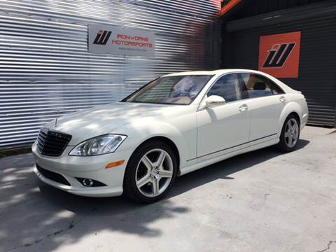 2007 Mercedes-Benz S-Class for sale at IRONWORKS MOTORSPORTS in Cartersville GA