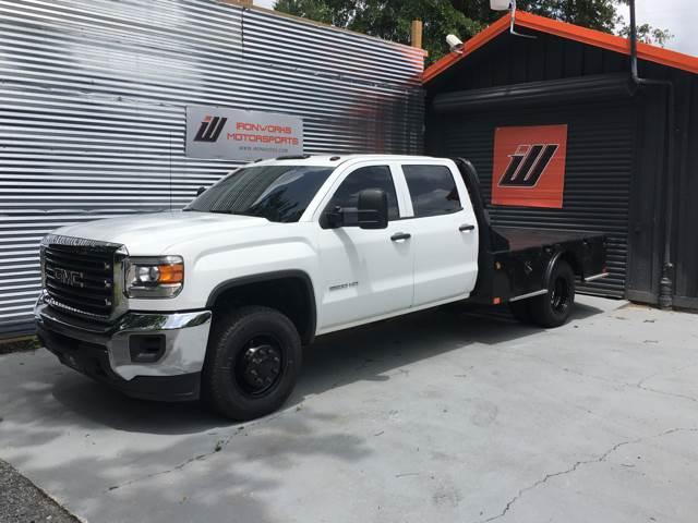 2015 GMC Sierra 3500HD CC for sale at IRONWORKS MOTORSPORTS in Cartersville GA