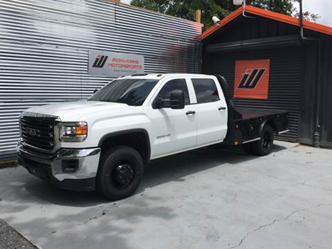 2015 GMC Sierra 3500HD CC for sale at IRONWORKS MOTORSPORTS in Cartersville GA