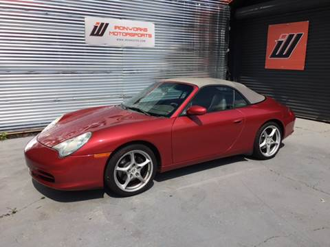 2002 Porsche 911 for sale at IRONWORKS MOTORSPORTS in Cartersville GA
