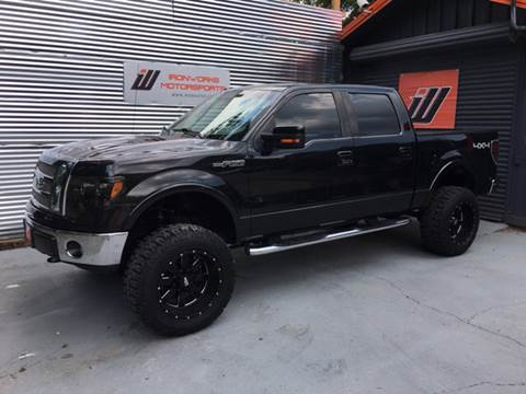 2010 Ford F-150 for sale at IRONWORKS MOTORSPORTS in Cartersville GA