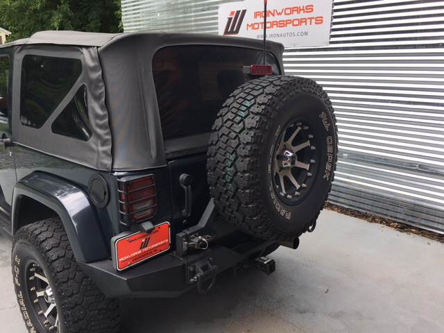 2007 Jeep Wrangler for sale at IRONWORKS MOTORSPORTS in Cartersville GA