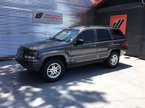 2004 Jeep Grand Cherokee for sale at IRONWORKS MOTORSPORTS in Cartersville GA