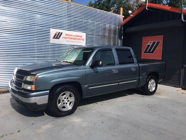 2006 Chevrolet Silverado 1500 for sale at IRONWORKS MOTORSPORTS in Cartersville GA
