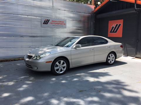 2005 Lexus ES 330 for sale at IRONWORKS MOTORSPORTS in Cartersville GA