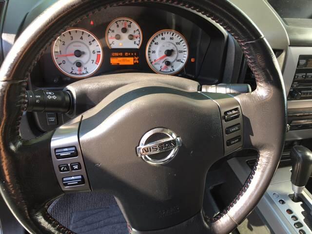 2011 Nissan Titan for sale at IRONWORKS MOTORSPORTS in Cartersville GA