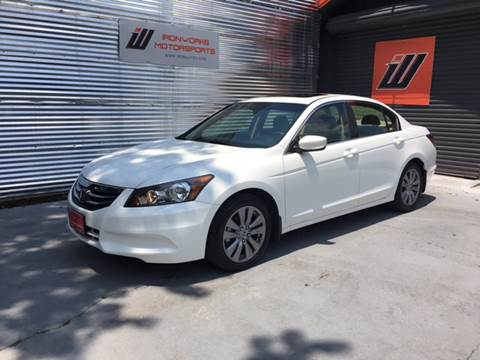 2012 Honda Accord for sale at IRONWORKS MOTORSPORTS in Cartersville GA