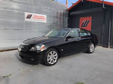 2006 Infiniti M45 for sale at IRONWORKS MOTORSPORTS in Cartersville GA
