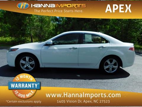 2014 Acura TSX for sale in Raleigh, NC