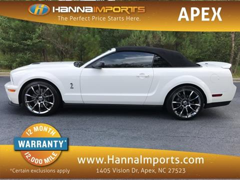 2008 Ford Shelby GT500 for sale in Raleigh, NC