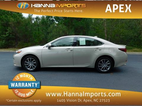 2016 Lexus ES 300h for sale in Raleigh, NC