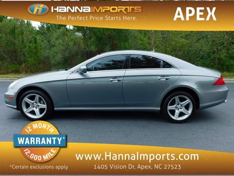 2011 Mercedes-Benz CLS for sale in Raleigh, NC