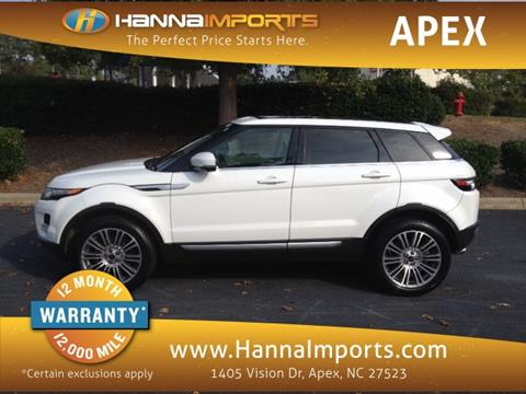 2012 Land Rover Range Rover Evoque for sale in Raleigh, NC