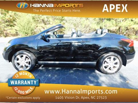 2014 Nissan Murano CrossCabriolet for sale in Raleigh, NC