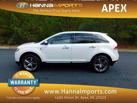 2011 Lincoln MKX for sale in Raleigh, NC