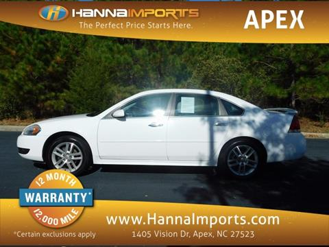 2012 Chevrolet Impala for sale in Raleigh, NC