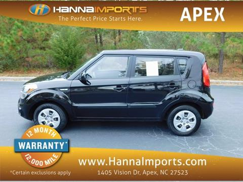 2013 Kia Soul for sale in Raleigh, NC