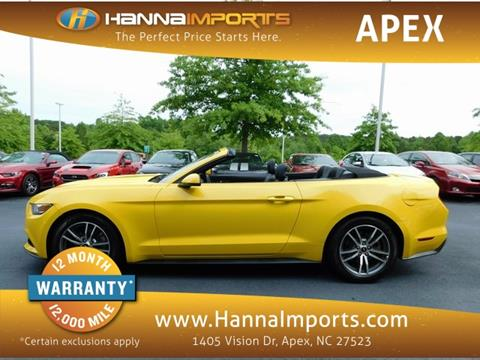 2015 Ford Mustang for sale in Raleigh, NC