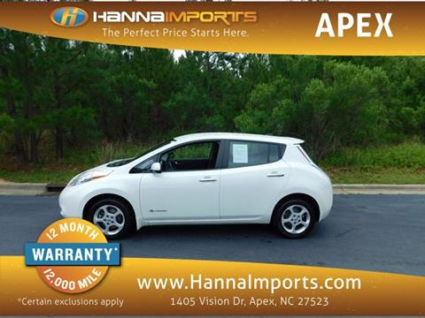 2014 Nissan LEAF for sale in Raleigh, NC