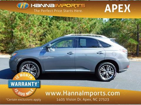 2012 Lexus RX 350 for sale in Raleigh, NC