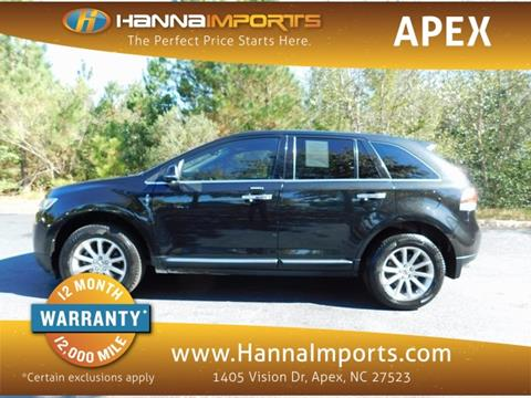 2015 Lincoln MKX for sale in Raleigh, NC