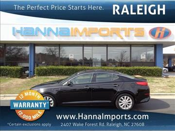 2014 Kia Optima for sale at Hanna Imports Apex - Hanna Imports in Raleigh NC