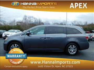 2014 Honda Odyssey for sale at Hanna Imports Apex in Apex NC
