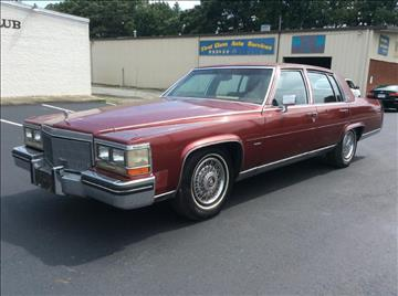 1985 Cadillac Fleetwood Brougham For Sale  Carsforsalecom