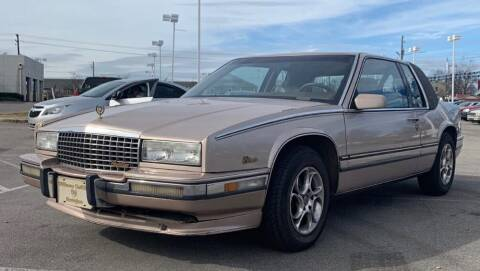 1991 Cadillac Eldorado for sale at Cobalt Cars in Atlanta GA