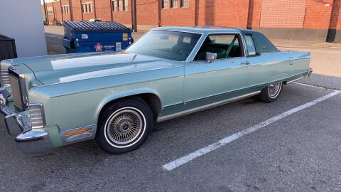 1977 Lincoln Continental for sale at Cobalt Cars in Atlanta GA