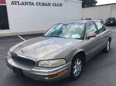 2000 Buick Park Avenue for sale at Cobalt Cars in Atlanta GA