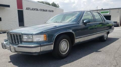 1994 Cadillac Fleetwood for sale at Cobalt Cars in Atlanta GA