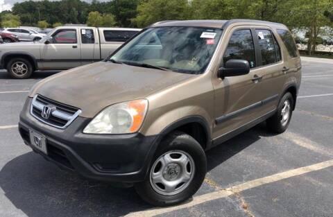 2002 Honda CR-V for sale at Cobalt Cars in Atlanta GA