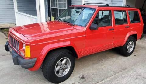1996 Jeep Cherokee for sale at Cobalt Cars in Atlanta GA
