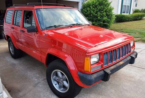 1996 Jeep Cherokee for sale at Cobalt Cars in Atlanta GA