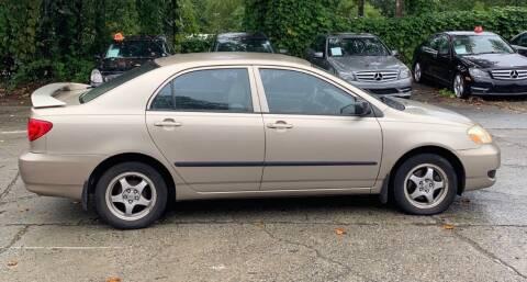 2005 Toyota Corolla for sale at Cobalt Cars in Atlanta GA