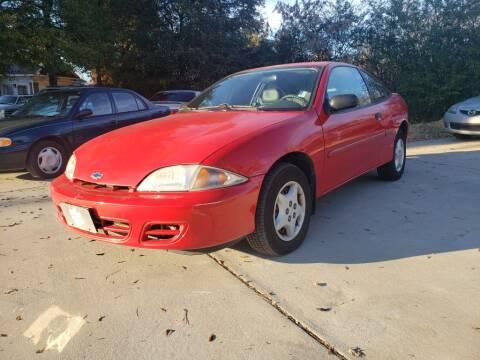 2001 Chevrolet Cavalier for sale at Cobalt Cars in Atlanta GA