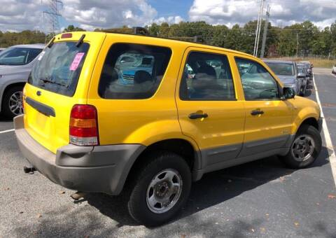 2002 Ford Escape for sale at Cobalt Cars in Atlanta GA