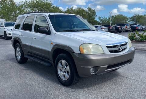 2002 Mazda Tribute for sale at Cobalt Cars in Atlanta GA